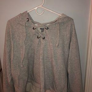 aerie hooded sweatshirt